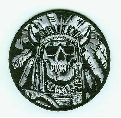 ELITE PROFESSIONALS SPECIAL FORCES GROUP NINJA NETWORK MORALE PATCH: CHIEF SKULL