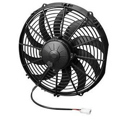 """Spal Cooling Fan 30102056; High Performance Curved Blade 14/"""" Single Electric"""