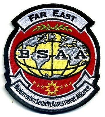 RESIDENT EVIL Bioterrorism Security Assessment Alliance BSAA Far East Patch
