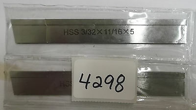 "P3N  Cut Off Blade Hss 3/32"" X 11/16""x5"" 10° Bevel -1 Pcs Only **new** Pic#4298"