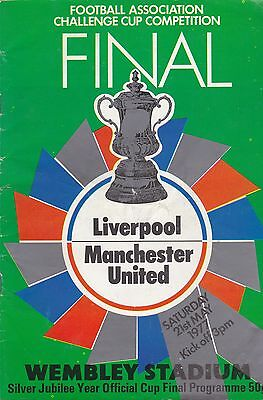 Liverpool V Manchester United ~ Fa Cup Final 1977 (1)
