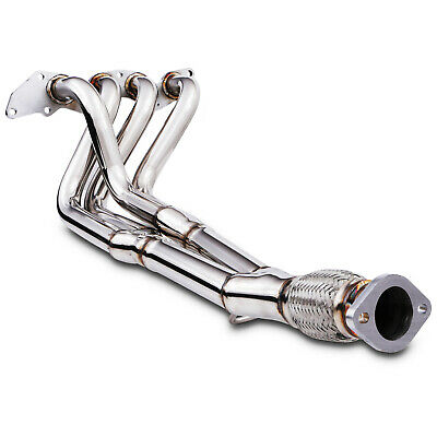 4-2-1 Stainless Race Exhaust Manifold Downpipe For Ford Fiesta St 150 St150 2.0
