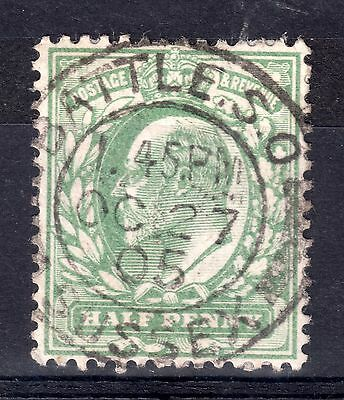 GB = Town/Village cancel - E7, `BATTLE S.O. / SUSSEX` Double Ring cancel