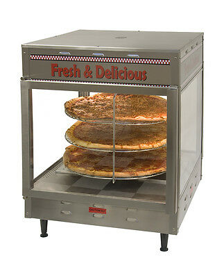 Humidified Pizza Pretzel Warmer Display Merchandiser PW18 Benchmark #51018