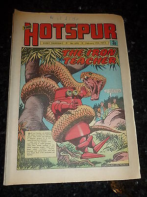 THE HOTSPUR Comic - No 696 - Date 17/02/1973 - UK Paper Comic