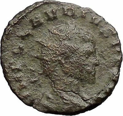 CLAUDIUS II Gothicus 268AD Ancient Roman Coin PAX Peace Goddess  i30903