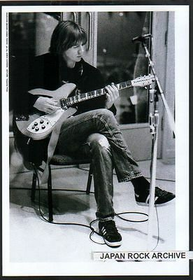 1995 Sonic Youth Thurston Moore JAPAN mag photo picture pinup / mini poster