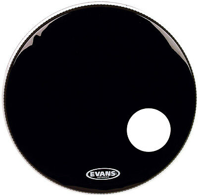 "Evans EQ3 BD22RB 22"" Resonant Bassdrum Fell Luftloch"