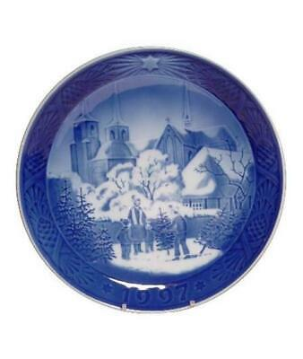 Royal Copenhagen 1997 Christmas Plate NIB Roskilde Cathedral NEW IN BOX