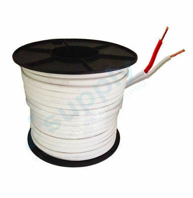 1.5mm Twin (Red / White) TPS Electrical Cable 100mtrs