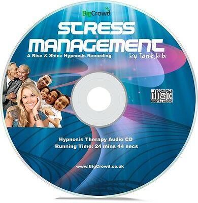 Hypnotherapy for Anxiety Self Hypnosis Audio CD Stress Management
