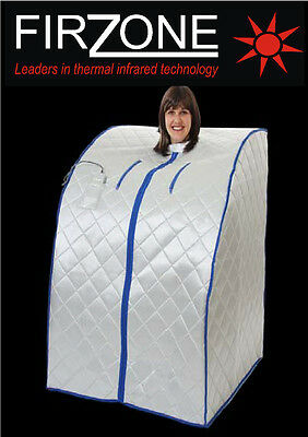 Firzone portable far infrared FIR sauna no steam infra red XL slimming