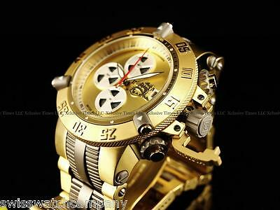 Invicta Men Subaqua Noma III Titanium Swiss A07 Valgranges Chrono 18KGP SS Watch