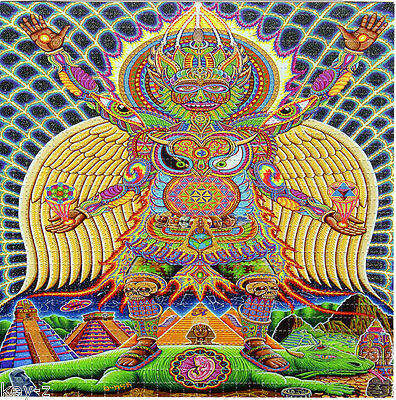 Neo Human EvolutionNeo Human Evolution -  BLOTTER ART perforated psychedelic