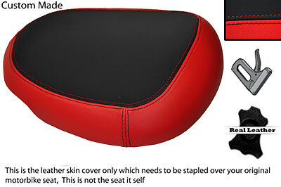 Red & Black 08-12 Custom Fits Suzuki Hayabusa Gsx 1300 Rear Pillion Seat Cover