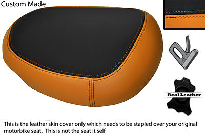 Orange& Black 08-12 Custom Fits Suzuki Hayabusa Gsx 1300 Rear Pillion Seat Cover