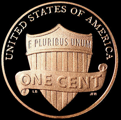 2013 S Lincoln Shield Penny ~ Mint Proof ~ Deep Cameo from Proof Set