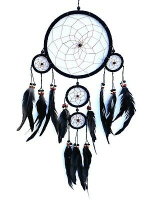 Handmade Dream Catcher wall hanging decoration ornament- long feathers -b5