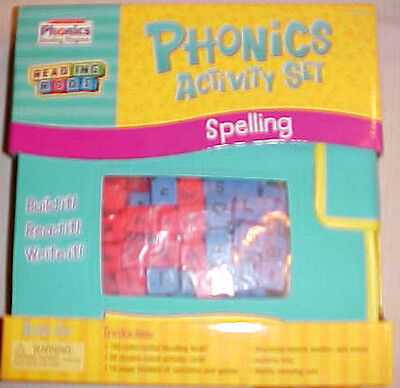 PHONICS ACTIVITY SET Word Building READING RODS Scholastic Learning Resources