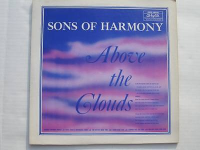 SONS OF HARMONY Above the Clouds Skylite SRLP 6024 vinyl LP rare southern gospe