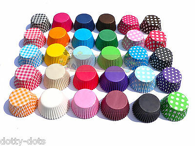 High Quality Paper Cupcake/muffin cases, 12,48,84,180, Can Mix Colours.