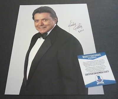 Mickey Gilley IP Signed Autographed 8x10 Photo Beckett Certified