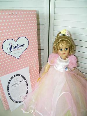 Effanbee Little Lady Gown Doll w/ Box 7233 Pink Gown