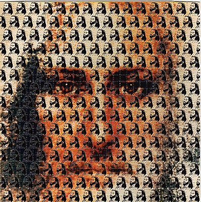 JESUS CHRIST perforated sheet BLOTTER ART psychedelic