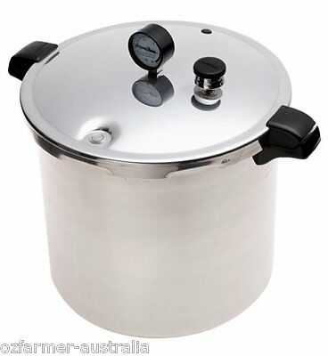Presto 23 Quart Pressure Cooker / Canner uses Fowlers-Vacola and Ball Jars ★★★★★