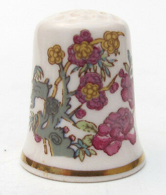 JOHNSON BROTHERS ENGLAND BLOSSOM IRONSTONE THIMBLE FOR FRANKLIN MINT 1980s WGPH