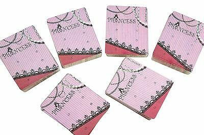 WHOLESALE LOT OF 100 PRINCESS JEWELRY HANGING EARRINGS CARDS for Retail Store