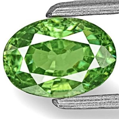 1.05-Carat Fiery Green Eye-Clean Namibian Demantoid Garnet