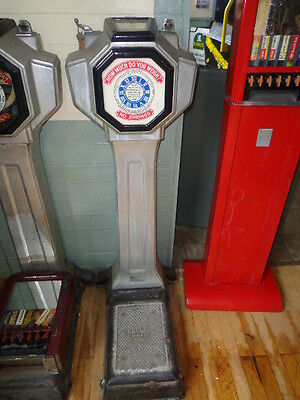Original 1930's Watling Tom Thumb Jr. Coin Operated Penny Scale