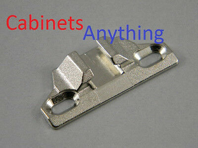 """Overlay-Blum 133.0240 110 Degree Compact 33 Edge Mount Plate 1-3//8/"""" Lot of 20"""