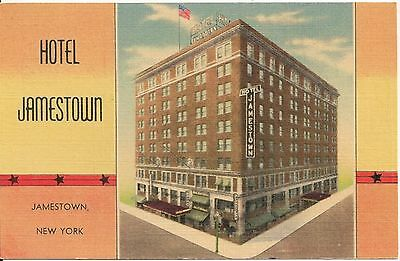 Hotel Jamestown, Jamestown NY Postcard