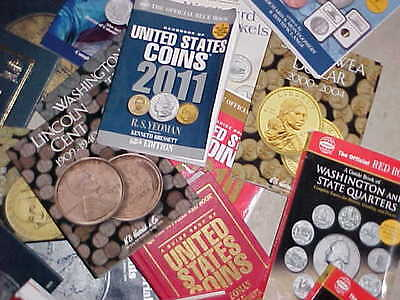 Coin Books,Folders BOOK LOT (over  10 Different coin Books & Folders)