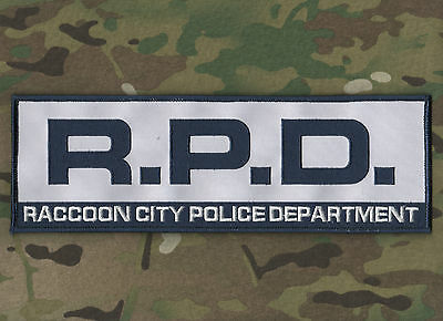 Resident Evil Zombie Outbreak Survivor Raccoon City Police Department Rpd Ssi
