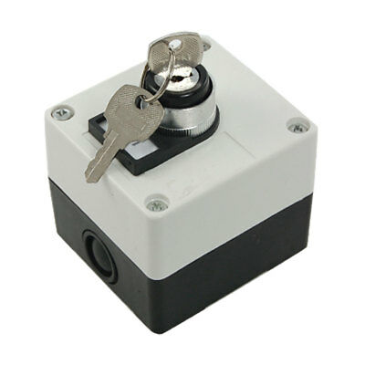 Electrical 2 Position Emergency Keylock Rotary Switch