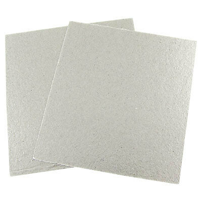 """Microwave Oven Repairing Part Mica Plates Sheets 5.1"""" x 4.7"""" 2pcs"""