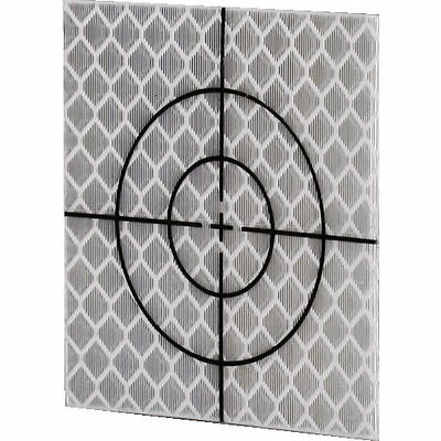 Silver Retro Reflective Targets (100 No) - 60mm