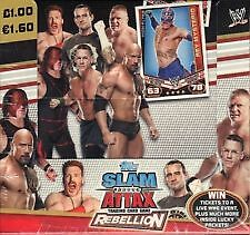 NEW WWE Slam Attax Rebellion 2012 -2013 Pick your MATCH TYPE  BASE CARDS