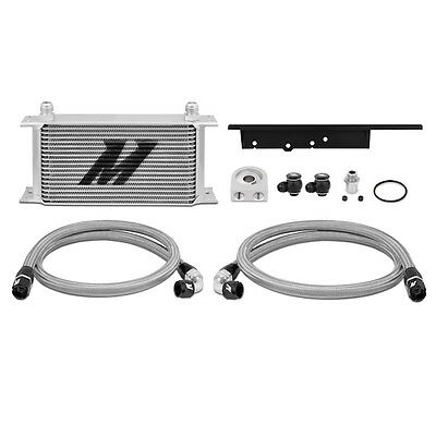 Mishimoto Oil Cooler Kit - Silver - fits Nissan 350Z - 2003-2007
