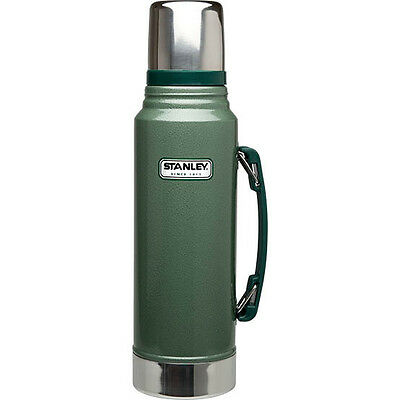 Aladdin Stanley Classic Steel Flask - Green - 1 Litre