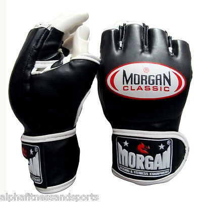 Morgan Classic MMA Gloves Boxing UFC Fight Muay Thai Training Sparring Punch New