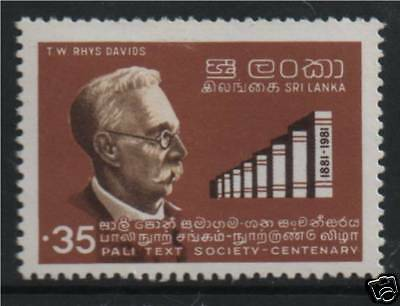 Sri Lanka 1981 Cent.of Palitext Society SG 738 MNH