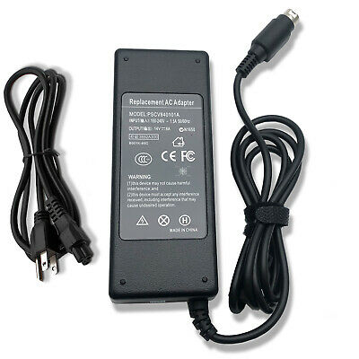 24V 5A 4 pin AC Adapter Charger For Mintek DTV-233 LCD TV DVD Combo Power Supply