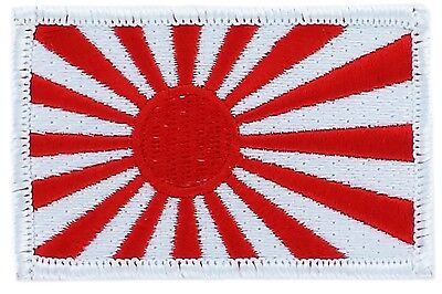 Rising Sun Kamikaze Japan Flag Patch Patches Badge Iron On New Embroidered