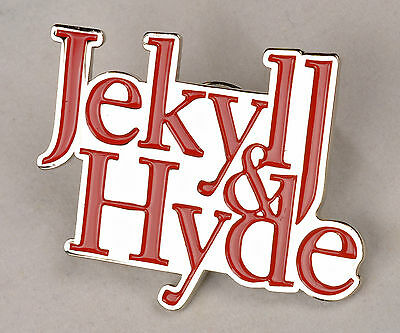 JEKYLL AND HYDE BROADWAY  REVIVAL SUVENIR LAPEL PIN -  DEBORAH COX
