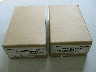 New* Kb Electronics Si-3 Isolated Input Kbcc-R / Kbpb Controls Kbsi-3 *lot Of 2*