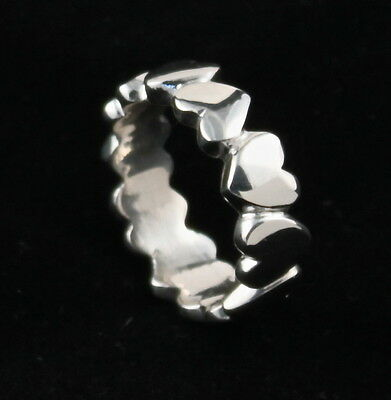 NEW! Sterling Silver Hearts Ring, for Valentines Day! Only at Sigi Jwelry Design